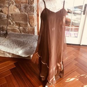 Vintage layered unusual dress
